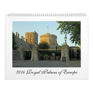 2014 Royal Palaces of Europe Calendar