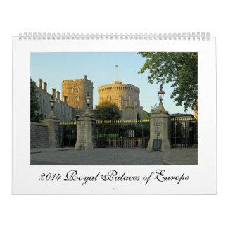 2014 Royal Palaces of Europe Calendar