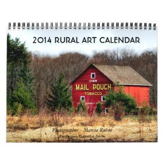 2014 Rural Barn Art Calendar