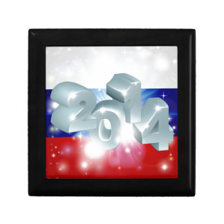 2014 Russian flag Jewelry Boxes
