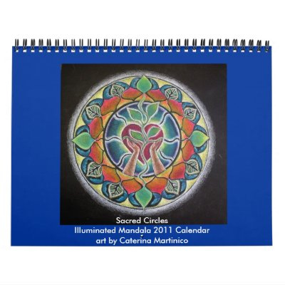 2014 Sacred Circles Illuminated Mandala 2013 Wall Calendar