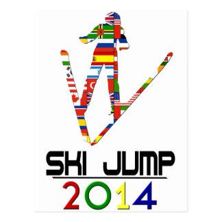 2014: Salto de esquí Tarjetas Postales