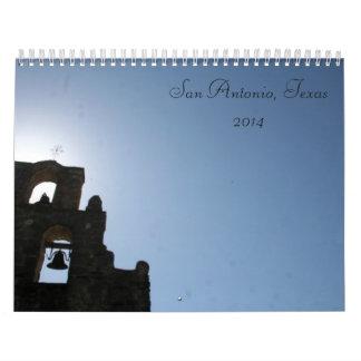 2014 San Antonio Calendar