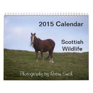2014 Scottish Wildlife by Robin Smith Calendar