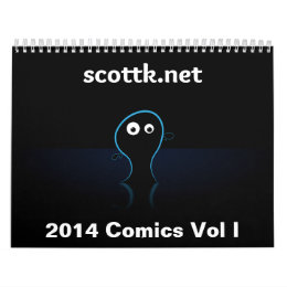 2014 scottk.net Comics Calendar Vol I