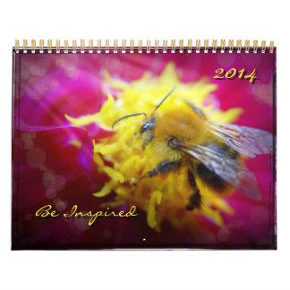 2014 - Se inspire la abeja hermosa, Calendarios