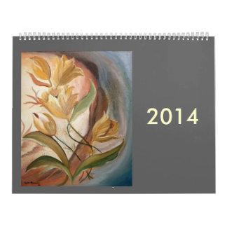 2014 Selection of artwork Calendar