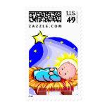 2014 sellos USPS de la tarjeta del día de fiesta
