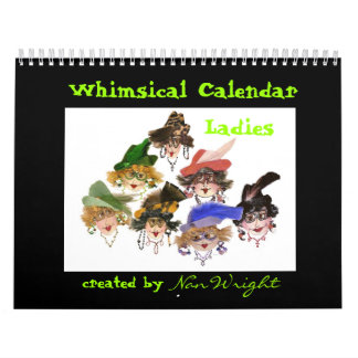 2014 señora caprichosa Calendar Calendario