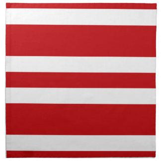 2014 servilletas de cena rojo oscuro y blancas del