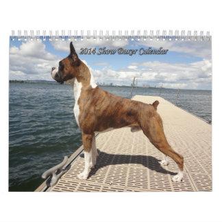 2014 Show Boxer Calendar
