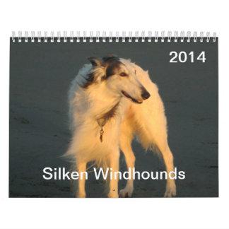 2014 Silken Windhounds 1-2 Calendars