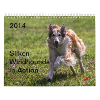 2014 Silken Windhounds in Action 1-6 Calendar