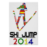 2014: Ski Jump Poster