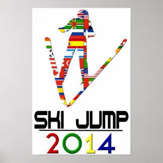 2014 Ski Jump Poster