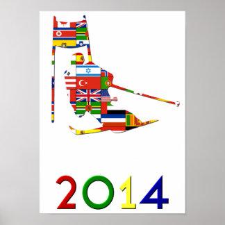 2014: Slalom Poster