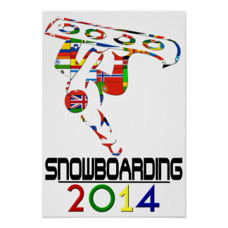 2014: Snowboarding Poster
