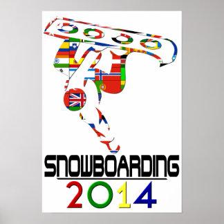 2014: Snowboarding Poster