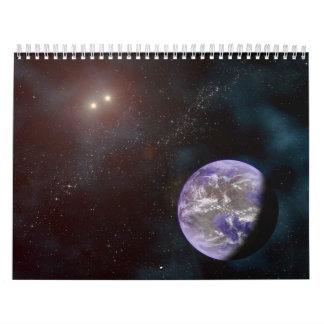 2014 Space Art Calendar