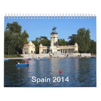 2014 Spain Calendar