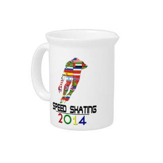 2014: Speed Skating Beverage Pitcher