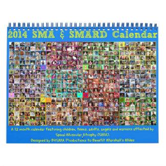2014 Spinal Muscular Atrophy (SMA) Calendar