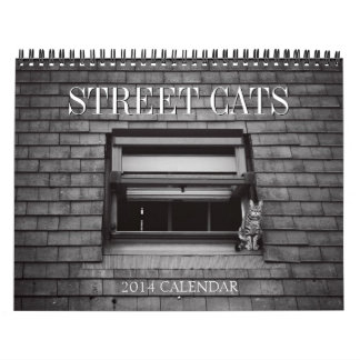 2014 Street Cats Photography Calendar