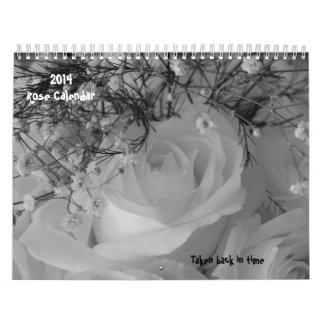 2014 subió Calendario-Tomado detrás a tiempo