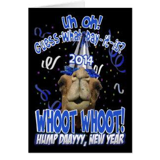 2014 tarjetas de felicitación del camello del día
