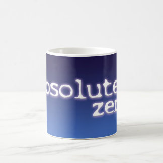 2014 tazas del logotipo del cero absoluto - 11 onz