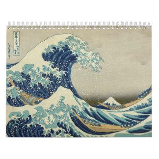 2014 - The Great Wave: The Art of Hokusai Calendar