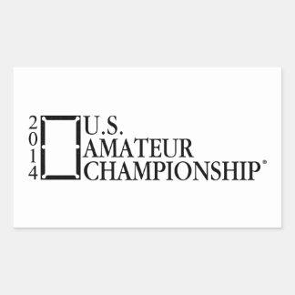 2014 U.S. Amateur Championship Rectangular Sticker