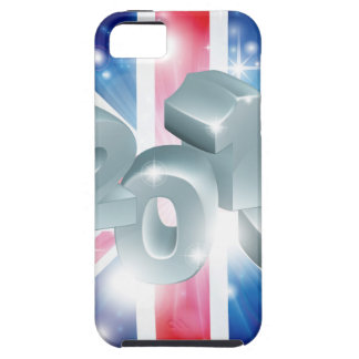 2014 Union Jack Flag iPhone 5 Cover