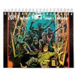 2014 Vintage Horror Comics Calendar