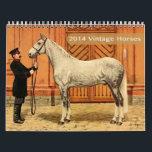 "2014 Vintage Horses Calendar<br><div class=""desc"">&quot;Stirrup&quot; some excitement for keeping track of the new year with this 2014 Vintage Horses calendar!</div>"