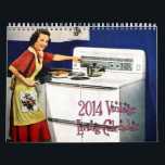 "2014 Vintage Living Calendar<br><div class=""desc"">If you loved the 2013 Vintage Living calendar - or even if you didn't - you'll LOVE the 2014 edition. This calendar contains twelve months' worth of beautiful, vintage illustrations and photographs depicting the ideal American life of the mid 20th century (1940s, 1950s, 1960s). This gorgeous calendar is a must-have...</div>"