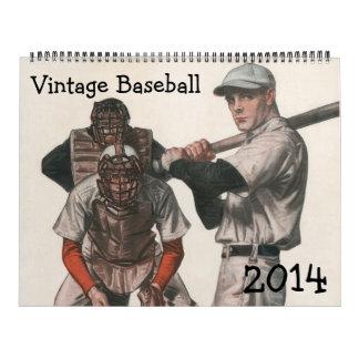 2014 Vintage Sports Baseball Calendar