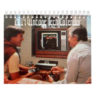 2014 Vintage Tech Calendar