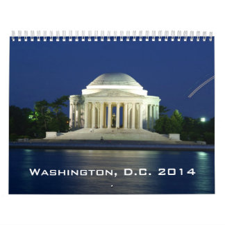2014 Washington, D.C. Calendar
