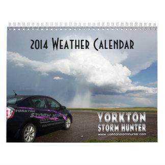 2014 WEATHER Calendar
