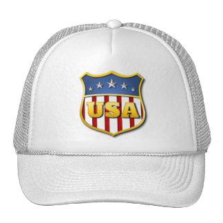 2014 Winter Olympics! USA Shield Trucker Hats