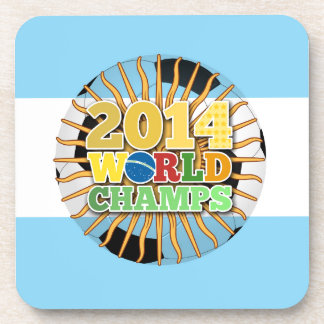 2014 World Champs Ball - Argentina Drink Coaster