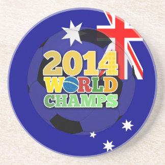 2014 World Champs Ball - Australia Drink Coasters