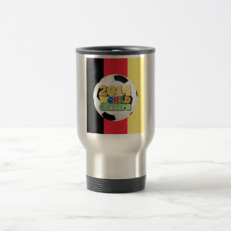 2014 World Champs Ball - Belgium Travel Mug