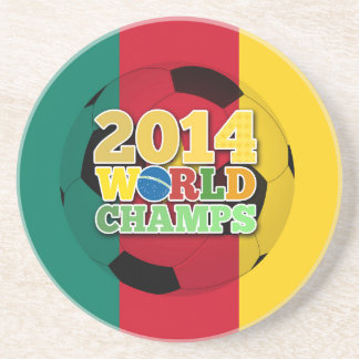 2014 World Champs Ball - Cameroon Drink Coaster