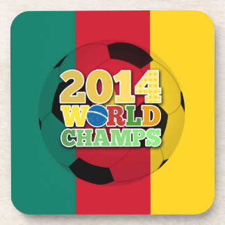 2014 World Champs Ball - Cameroon Beverage Coasters