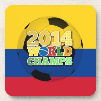2014 World Champs Ball - Colombia Beverage Coasters