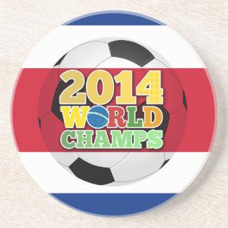 2014 World Champs Ball - Costa Rica Beverage Coaster
