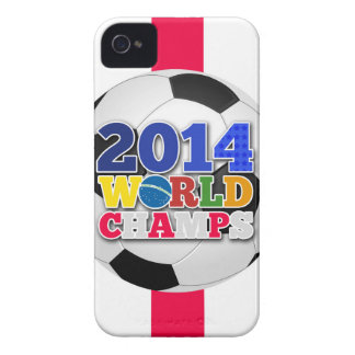 2014 World Champs Ball - England Case-Mate iPhone 4 Cases