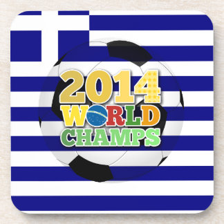 2014 World Champs Ball - Greece Drink Coasters
